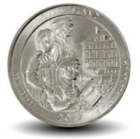 Парки США - Нью-Джерси, 25 центов 2017