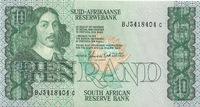 ЮАР, 10 ранд (рэнд), с 1978 по 1990-е гг.