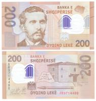 Албания 200 лек 2017 год (полимер)