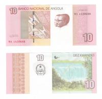 Ангола | 10 кванзас | 2012 год