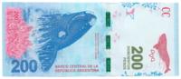Аргентина, номинал 200 песо, 2016 год