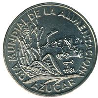 Куба 1 песо 1981 год, ФАО (FAO)