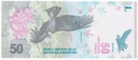 Аргентина 50 песо 2018 год