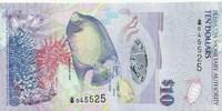 Бермудские острова, 10 долларов, 2009 год