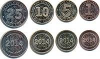 Набор монет Зимбабве 2014 - монеты облигации