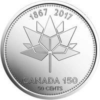 150 лет Конфедерации - Канада 2017, 50 центов