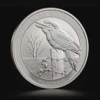 Австралийская монета Кукабарра 2012