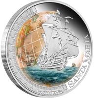 """Корабль """"Санта-Мария"""" (Santa Maria) - Тувалу (Tuvalu)"""