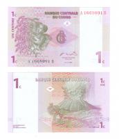 Конго | 1 сантим | 1997 год