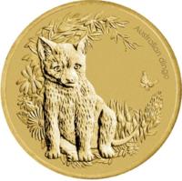 "Монета в блистере ""Динго"" серии ""Australian Bush Babies"""