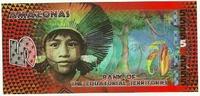 """Набор банкнот """"Экваториальные территории"""", полимер"""