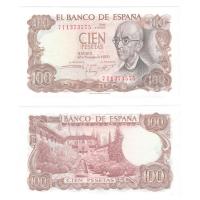 Испания 100 песет 1970 год
