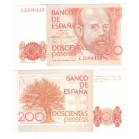 Испания 200 песет 1980 год