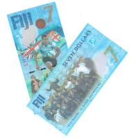 Фиджи 7 долларов 2017 год - в честь победы сборной на регби