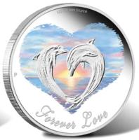 """Монета влюбленным """"Вечная любовь"""" (Forever Love)"""