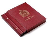 Футляр для альбомов Альбо Нумисматико толщиной 20 мм, цвет «Бордо»