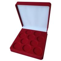 Коробка на 10 монет в капсулах (диаметр 44 мм)