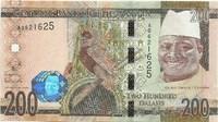 Гамбия, 200 даласи, 2015 год