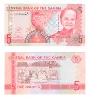 Гамбия | 5 даласи | 2006 год