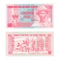 Гвинея-Бисау 50 песо 1990 год