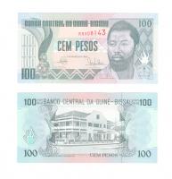 Гвинея-Бисау 100 песо 1990 год