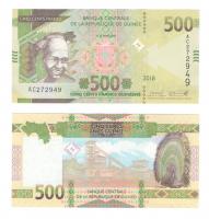 Гвинея | 500 франков | 2018 год