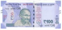 Индия 100 рупий 2018 год (Махатма Ганди)