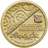 Первый патент - серия Инновации США, 1 доллар 2018 год
