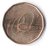 100 лет хоккейному клубу Монреаль Канадиенс - Канада, 1 доллар, 2009