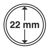 Капсулы для монет 22 мм. - Leuchtturm