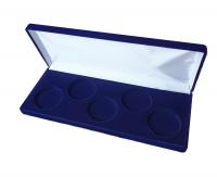 Коробка для 5 монет в капсулах (диаметр 46 мм) вытянутая