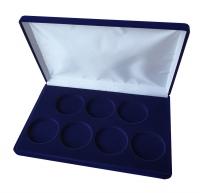 Коробка для 7 монет в капсулах (диаметр 46 мм)