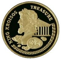 "Золотая монета ""Царь Крес"""