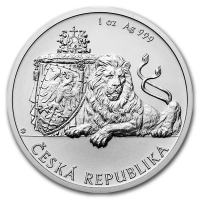 Чешский лев - 1 доллар, о.Ниуэ, 2017 год