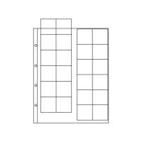 Лист для монет на 24 ячейки (39х38 мм, формат Optima)