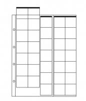 Лист для монет на 35 ячеек (30х32 мм, формат Optima)