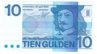 Нидерланды 10 гульденов 1968 год
