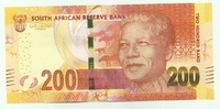 ЮАР, 200 рандов, 2012 год, Нельсон Мандела