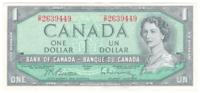 Канада 1 доллар 1954 год