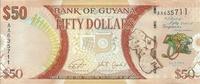 Гайана, 50 долларов, 2016 год, юбилейная
