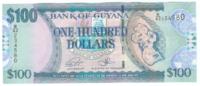 Гайана, номинал 100 долларов, 2006 год