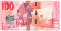 Сейшельские острова, номинал 100 рупий, 2016 год