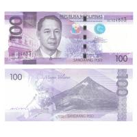 Филиппины 100 песо 2015 год
