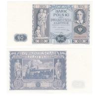 Польша 20 злотых 1936 год