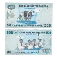 Руанда | 500 франков | 2013 год