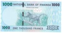 Руанда 1000 франков 2015 год