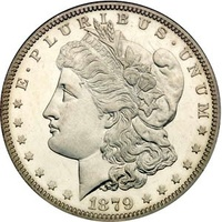 Серебряный доллар 1$ - Морган.