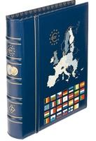 Альбом OPTIMA-classic для монет ЕВРО с чехлом