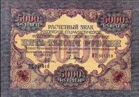 5000 рублей, 1919 год