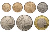 Набор монет Сейшелы 2016 года (7 монет), новый дизайн!